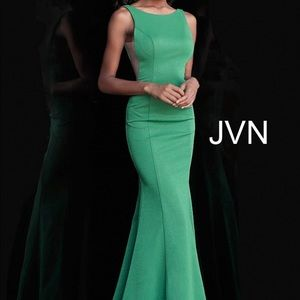 Jovani Green Size 6 Evening Gown
